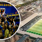 Plough Lane AFC Wimbledon Fans