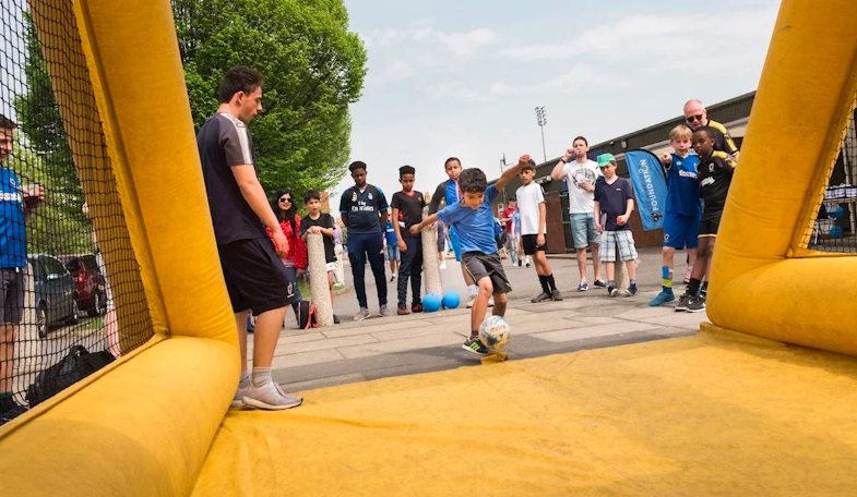 AFC Wimbledon Foundation Inflatable