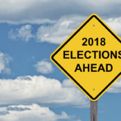 Caution Sign - 2018 Elections Ahead