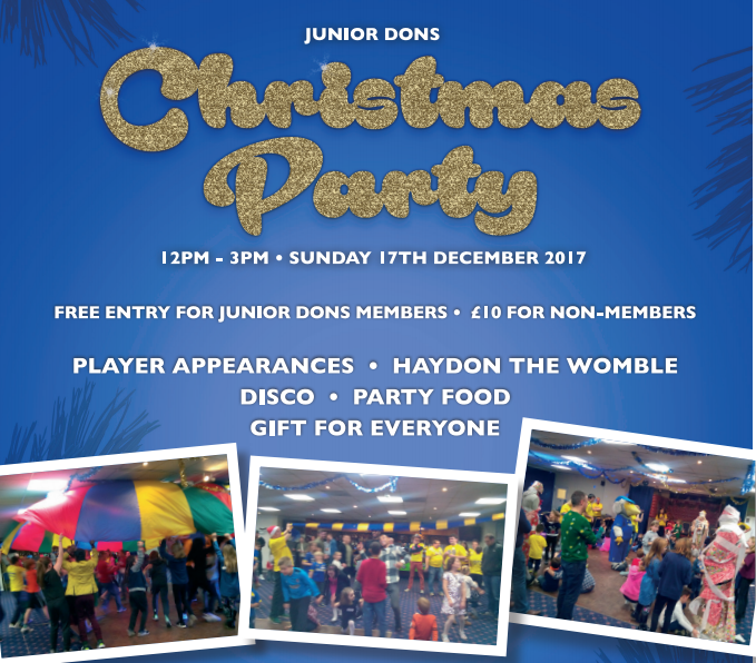 Junior Dons Christmas Party | The Dons Trust