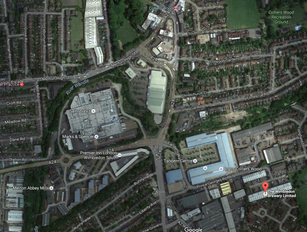 SGM venue map