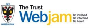 The Trust Webjam logo